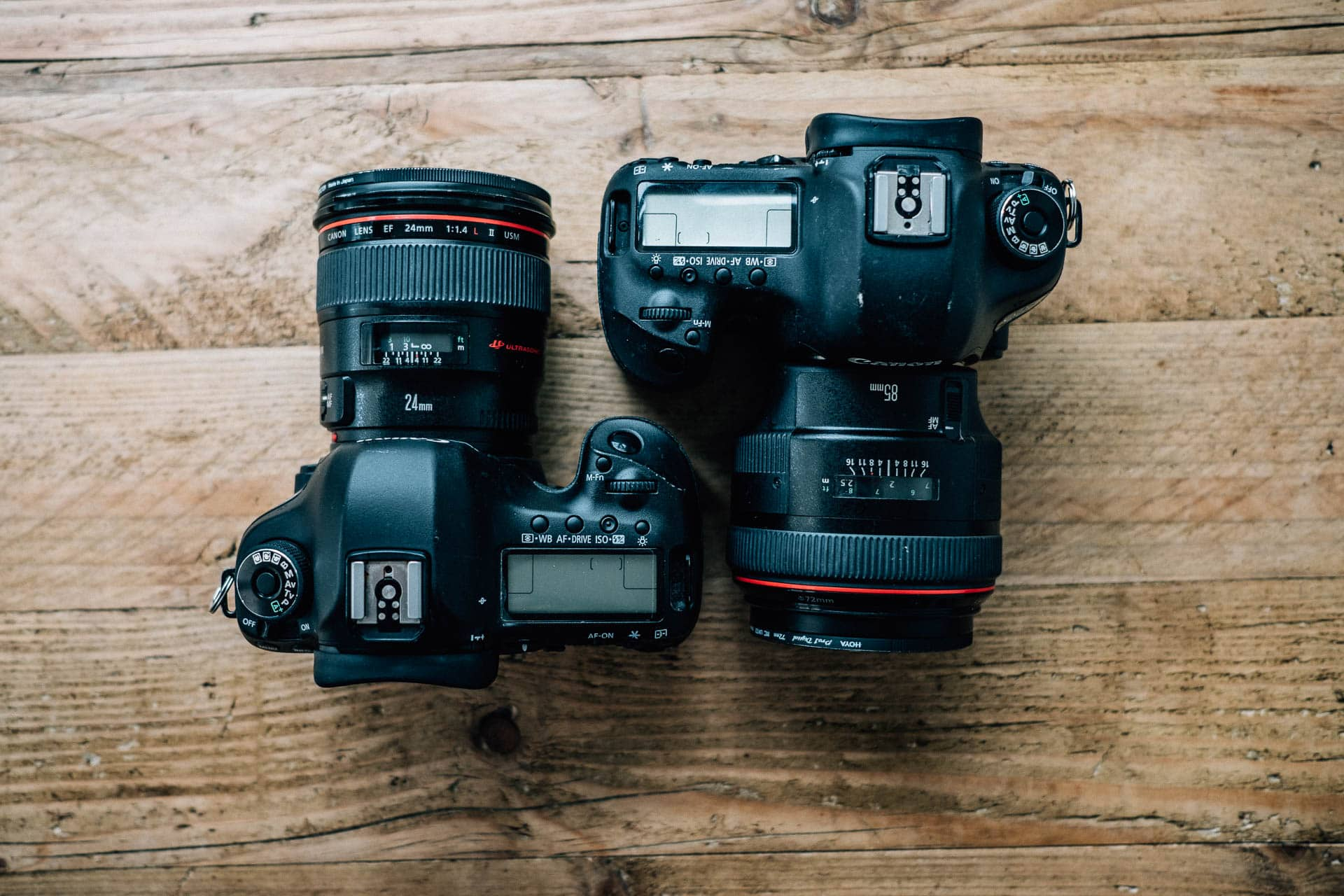 Best gear for professional wedding photography - Katie's Canon 5D Cameras